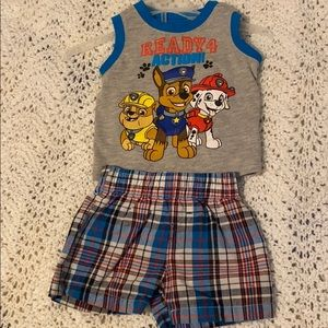 Nickelodeon Paw Patrol infant outfit